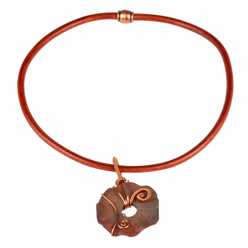Earthen Elegance Urban Raku Necklace Watch Our Video
