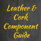 leather jewelry supplies