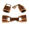 25mm clasps for flat leather cord
