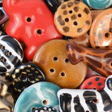 kazzuri buttons for making jewelry