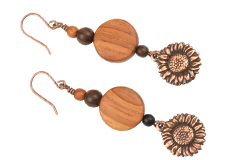 wood beads jewelry making projects