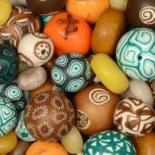 samunnat polymer clay beads for jewelry making